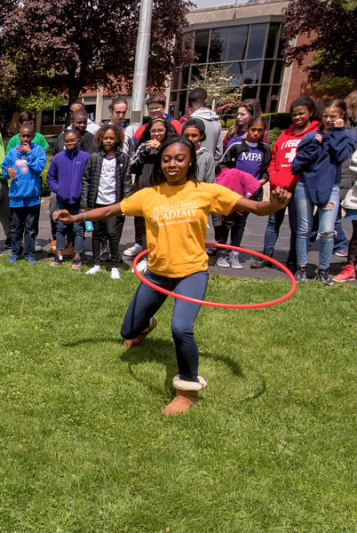 MS HOUSE COLORS Hula Hoop Competition