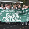 Clare improved to 2-0 in JPC action Friday via a 20-12 win over Harrison. (PHOTOS BY JIM LAHDE--MIPREPZONE.COM)
