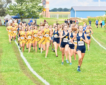 MS Ithaca Invite Girls Cross Country