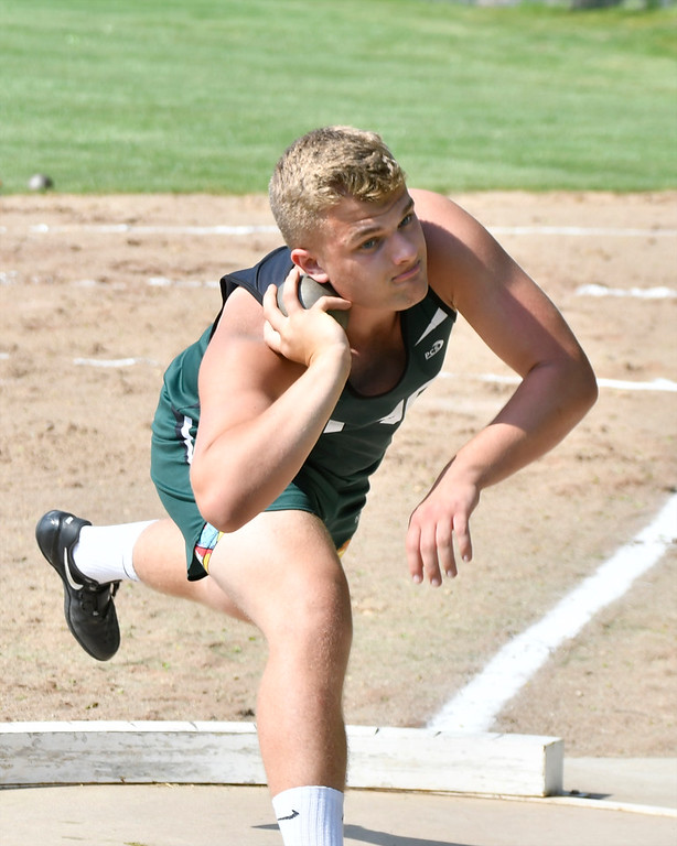 . Some of the best track and field athletes from mid-Michigan high schools competed in the Mid-Michigan Meet of Champions hosted by Alma College Tuesday, May 29, 2018. (Sun photo gallery by Skip Traynor)