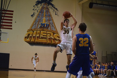 MS - Midland at Mt. Pleasant boys basketball