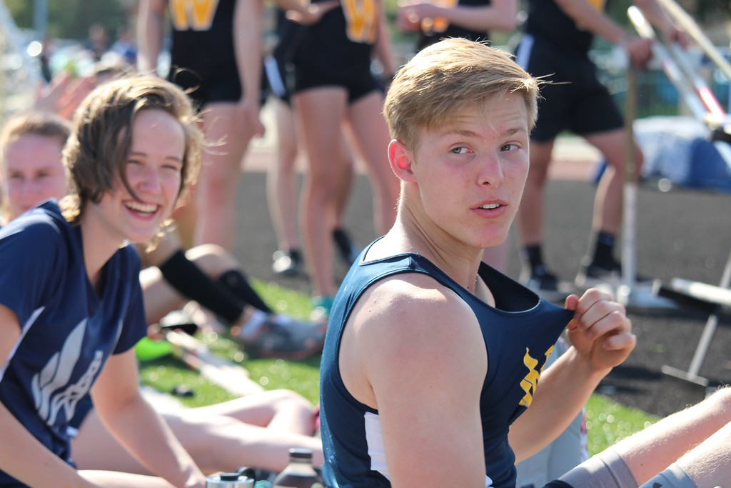 . Mt. Pleasant hosted Bay City Western in a SVL meet Tuesday. (Sun Photos by Isabella Kostrzewa)
