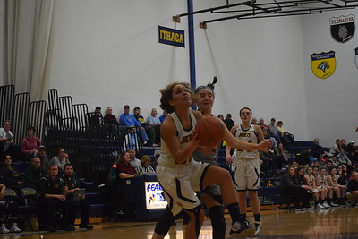 MS - OE at Ithaca girls basketball