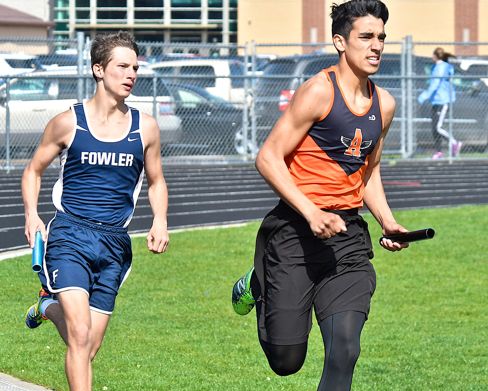 . The Ninth Annual Shepherd Bluejay Invite featured 18 Michigan high school track and field teams Friday, May 4, 2018. (Sun photo gallery by Skip Traynor)