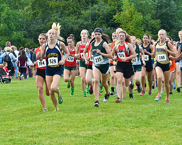 MS Shepherd Girls Cross Country John Bruder Classic