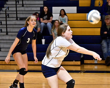 Host Shepherd defeated Chippewa Hills and Harrison in a non-conference tri-meet Thursday, Oct. 12, 2017. (Sun photo gallery by Skip Traynor)