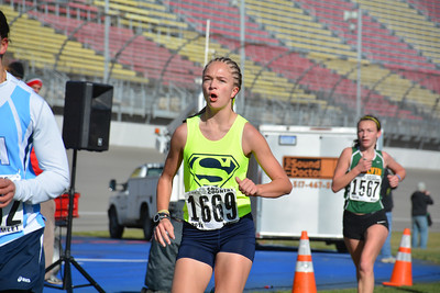 Shepherd's girls cross country team brings two of the top-10 freshman in the state into the fold in 2015. (MIPrepZone File Photos)