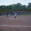 Shepherd's Haley Peska tossed a perfect game in the Jays' 5-0 Division 3 quarterfinal win over Millington Tuesday. (PHOTOS BY JIM LAHDE -- MIPREPZONE.COM)