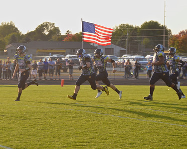 Host Shepherd stuck with Carrollton with a tie through the first half until the visitors pulled away in the third quarter Friday, Sept. 15, 2017. (Morning Sun photo gallery by Skip Traynor) Host Shepherd stuck with Carrollton with a toe through the first half until the visitors pulled away in the Third quarter in a game that honored military veterans Friday, Sept. 15, 2017. (Morning Sun photo gallery by Skip Traynor)