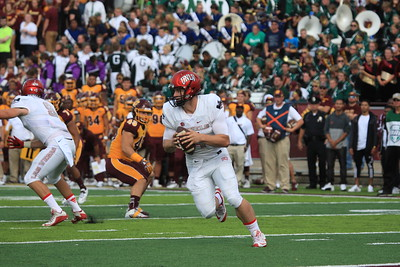 CMU played host to UNLV Saturday from Kelly/Shorts Stadium un Mt. Pleasant. (Photos by ROGER HAGERMAN)