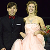 Vestaburg stayed close through three quarters before Sacred Heart Academy spoiled the Wolverines' Homecoming Friday, Sept. 23, 2016. Andreya McCarty and Jeren Smith were named Homecoming Queen and King. (MIPrepZone photo gallery by Skip Traynor)