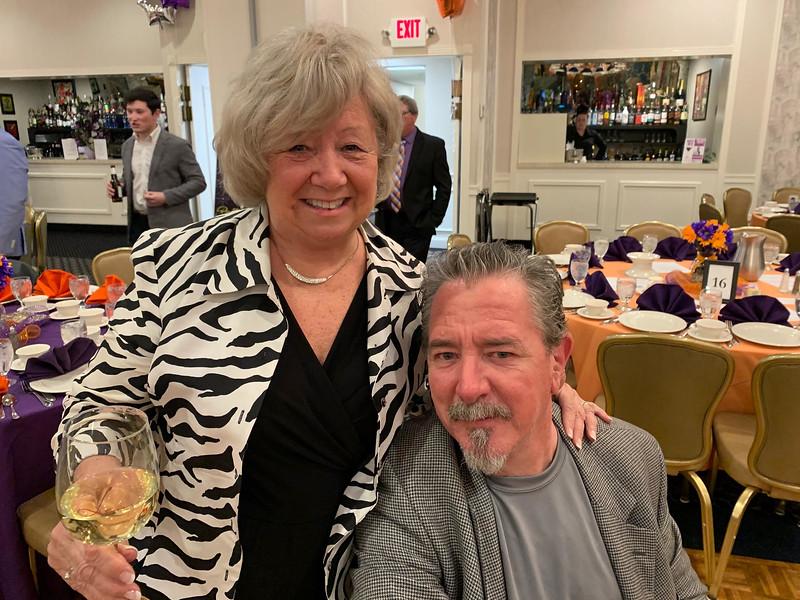 Trisha and Gary Sweeney of Belmont