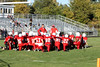 Boys MS Football - 9/26/2012 Grant