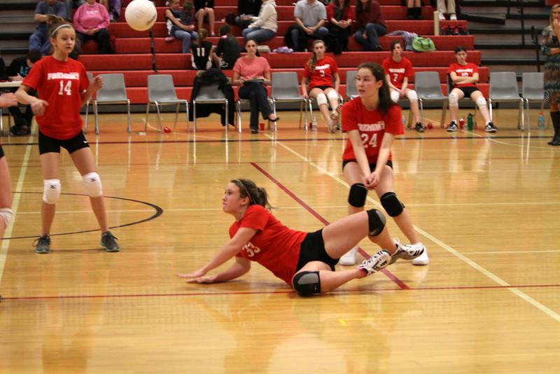 Girls 8th Grade Volleyball 2152012 Newaygo Fps