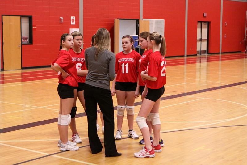 Girls 8th Grade Volleyball 2272013 Ludington Fps
