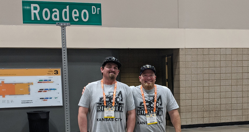 San Diego County Water Authority maintenance employees John Brown and Bobby Bond, Jr. ready to compete at the National Skills Roadeo in Kansas City, MO