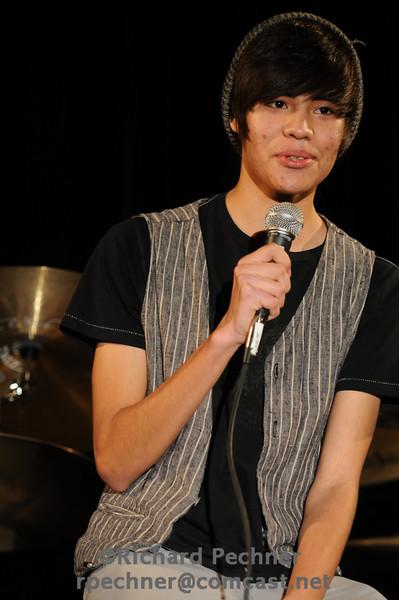 """Alex Michel (MT'12) performing """"We  Are Broken"""" by Josh Farro"""