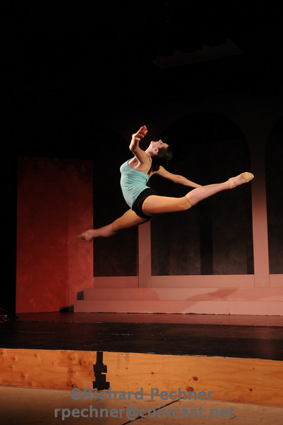 "Vanessa Gross (D'11) performing ""Solid Ground"" by John Soda, Coreography by Vanessa Grass"