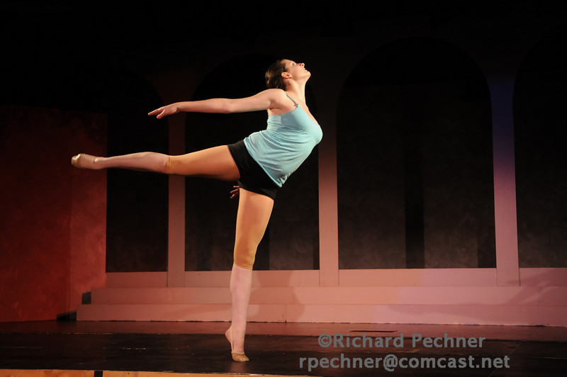 """Vanessa Gross (D'11) performing """"Solid Ground"""" by John Soda, Coreography by Vanessa Grass"""