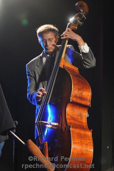 """Director of MSA Mark Peabody playing bass on """"Some Other Time"""" by Steve Grossman."""