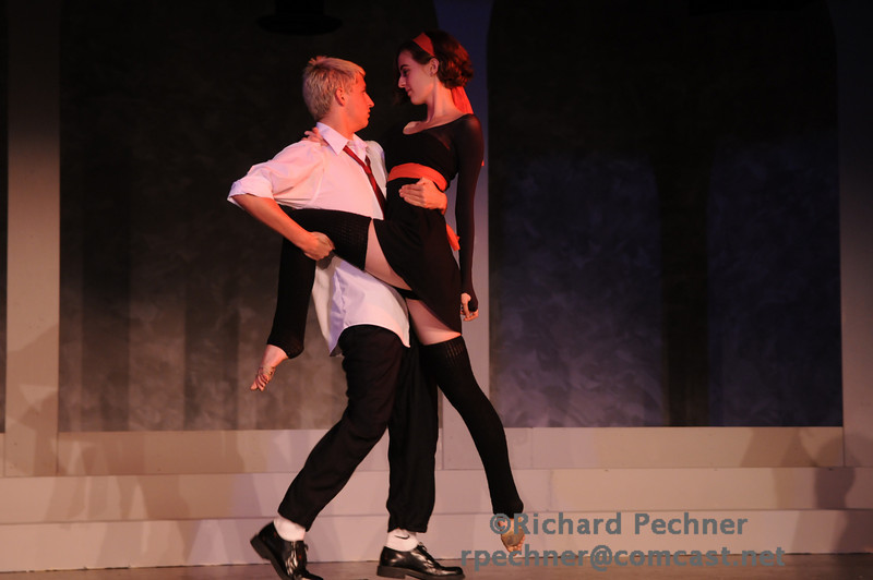 """Dominic Williams (MT'11) & Emma Cockcroft (D'10) dancing """"Deception"""" from the CD """"Chasing Pavements"""" by Adele"""