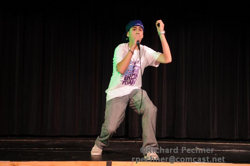 "Gabe Cataldi (IM'10) Hip Hoping his way through ""The Devils Shield"""