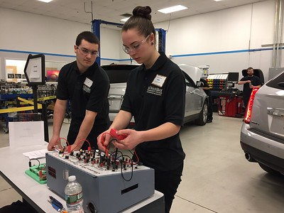 MSADA High School Automotive Competition - 2017