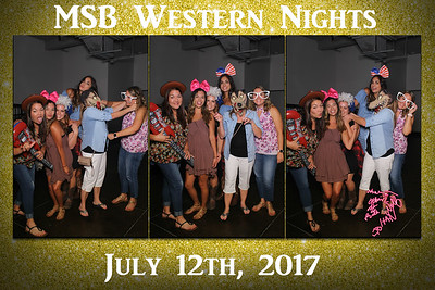 MSB Western Nights
