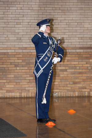 Drum Major Competition