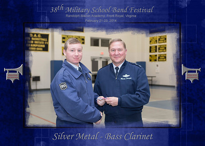 1st Chair Silver - Gold Awards