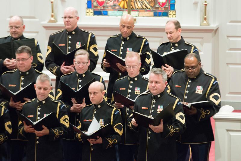 US Army Chorus Performance