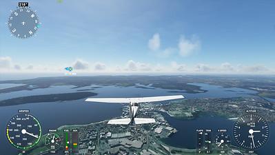 MSFS, Microsoft Flight Simulaor - Sun 23/08/2020@15:30