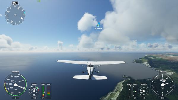 MSFS, Microsoft Flight Simulaor - Sun 23/08/2020@15:42