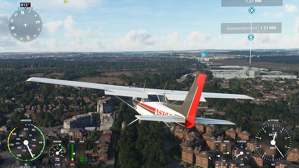 MSFS, Microsoft Flight Simulaor - Sat 22/08/2020@20:16