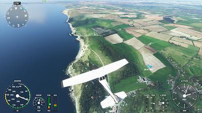 MSFS, Microsoft Flight Simulaor - Sun 23/08/2020@15:45