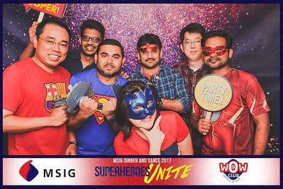MSIG Dinner & Dance 2017 | © www.SRSLYPhotobooth.sg