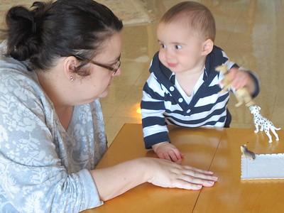 MSLF's Parent Infant Class