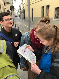 Day 2 in Padua began with Giotto's famous fresco cycle in the Scrovegni Chapel. We then found fresh fruit and cheese and followed Milana to Galileo's house.