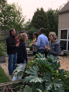 All Parent Welcome Social in the Garden