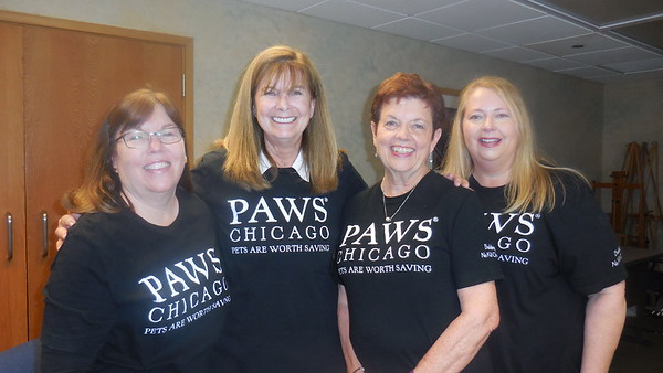 Visit from PAWS of Chicago