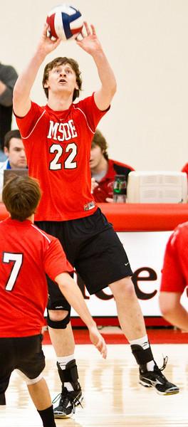 2010-02-21 MSOE Men's Volleyball vs. Lindenwood