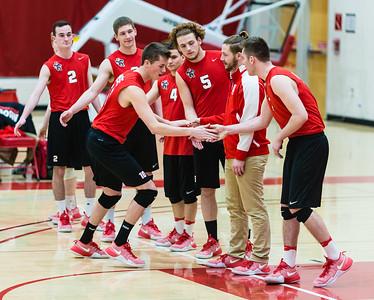 2017-03-08 MSOE Men's Volleyball vs. Cardinal Stritch (3-0 W)