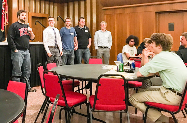 MSOE CE Industry/Student/Alumni Networking event sponsored by Rockwell Automation