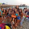 Team Columbia having fun at S.M. Beach
