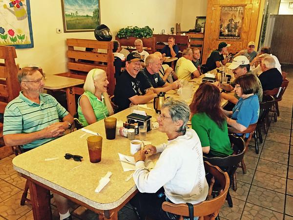 June 2015  RTE - Crossroads Restaurant, Okjeechobee, FL