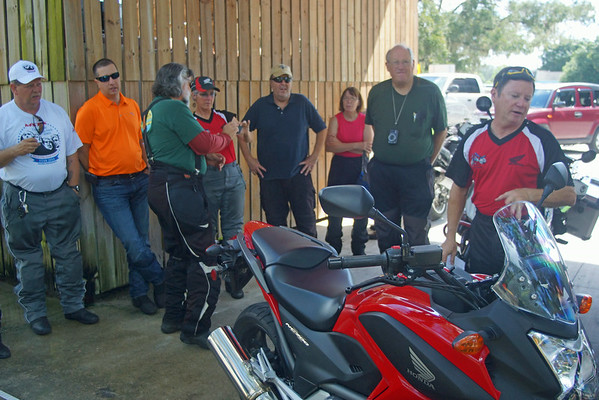 Doug Westly explains the details of the new Honda NC700