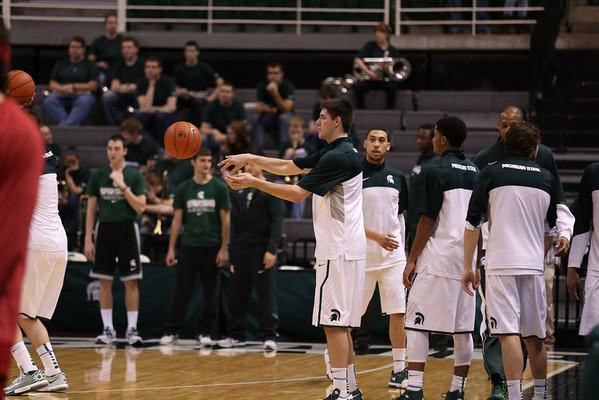 MSU Basketball - Nebraska Basketball