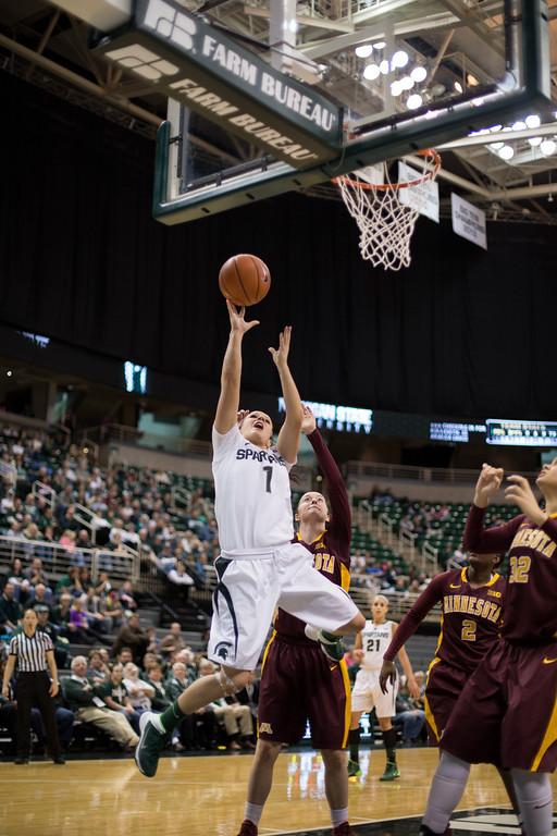 MSU Women's Basketball - Minnesota