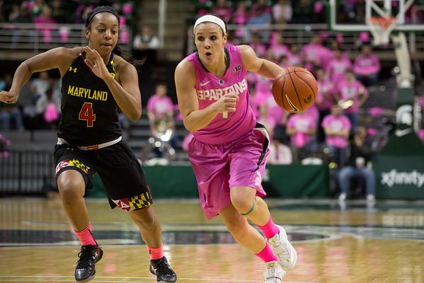 MSU Women's Basketball - Maryland