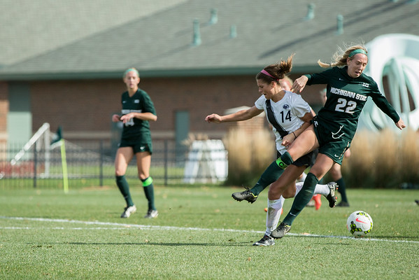 MSU Women's Soccer - Penn State 10/19/14